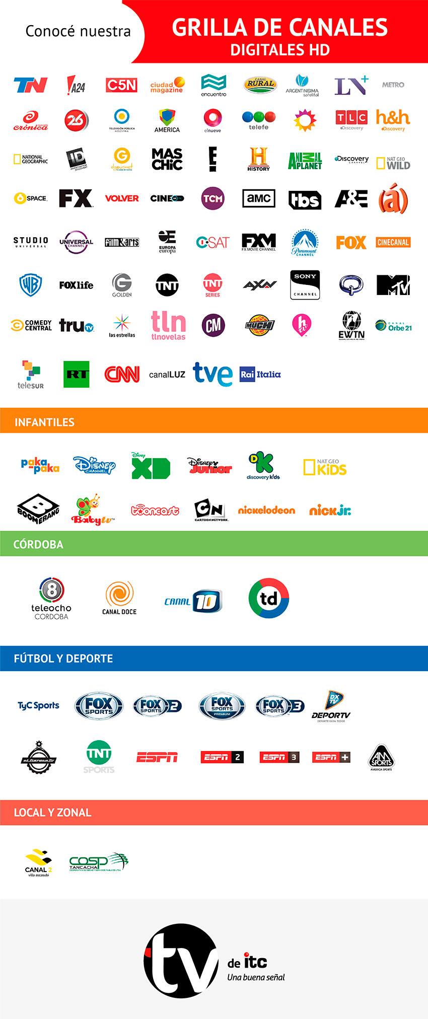Guía TV Villa Ascasubi